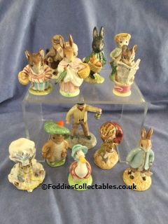 Beatrix Potter Figures