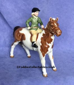 Beswick Girl On Pony quality figurine