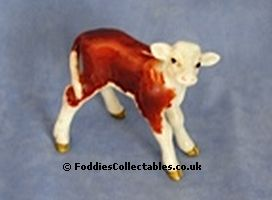 Beswick Hereford Calf 1406 quality figurine