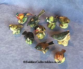 Huge selection of collectable figurines from our Beswick Bird collection