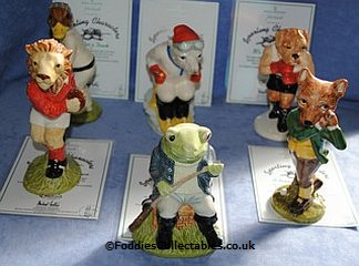 Beswick Sporting Characters