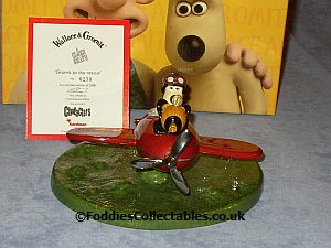 Coalport Gromit To The Rescue quality figurine
