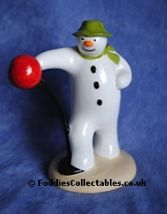 Coalport Snowman Its A Knockout quality figurine