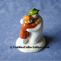 Coalport Snowman Special Moment quality figurine