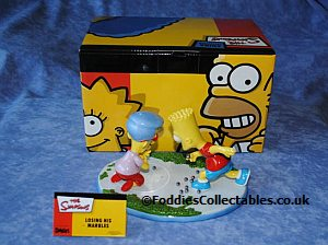Coalport The Simpsons Losing His Marbles quality figurine