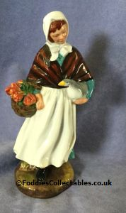 Royal Doulton Character Figure A Country Lass quality figurine
