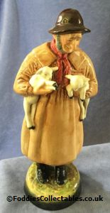 Royal Doulton Character Figure Lambing Time quality figurine